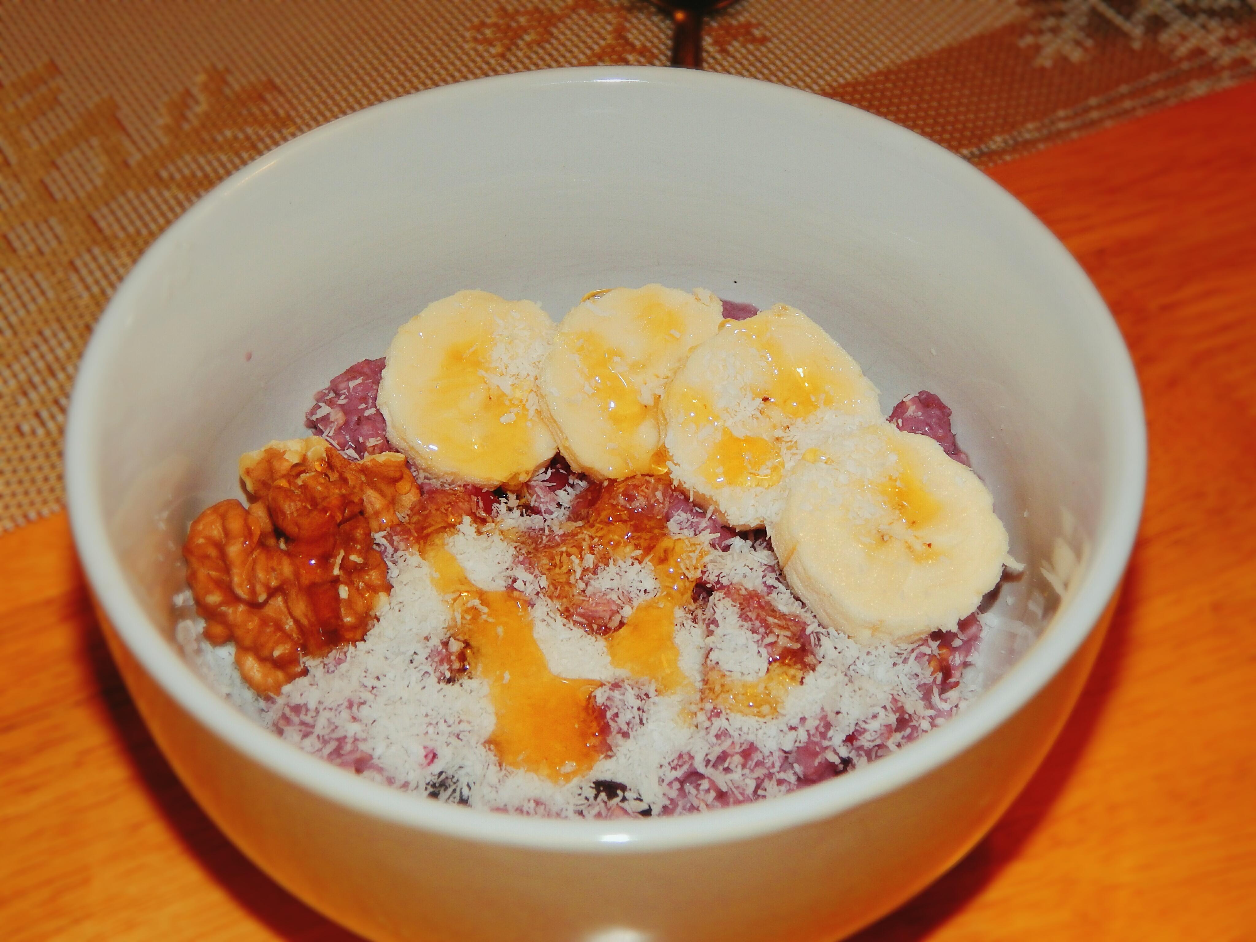 raňajky z mrazeného ovocia