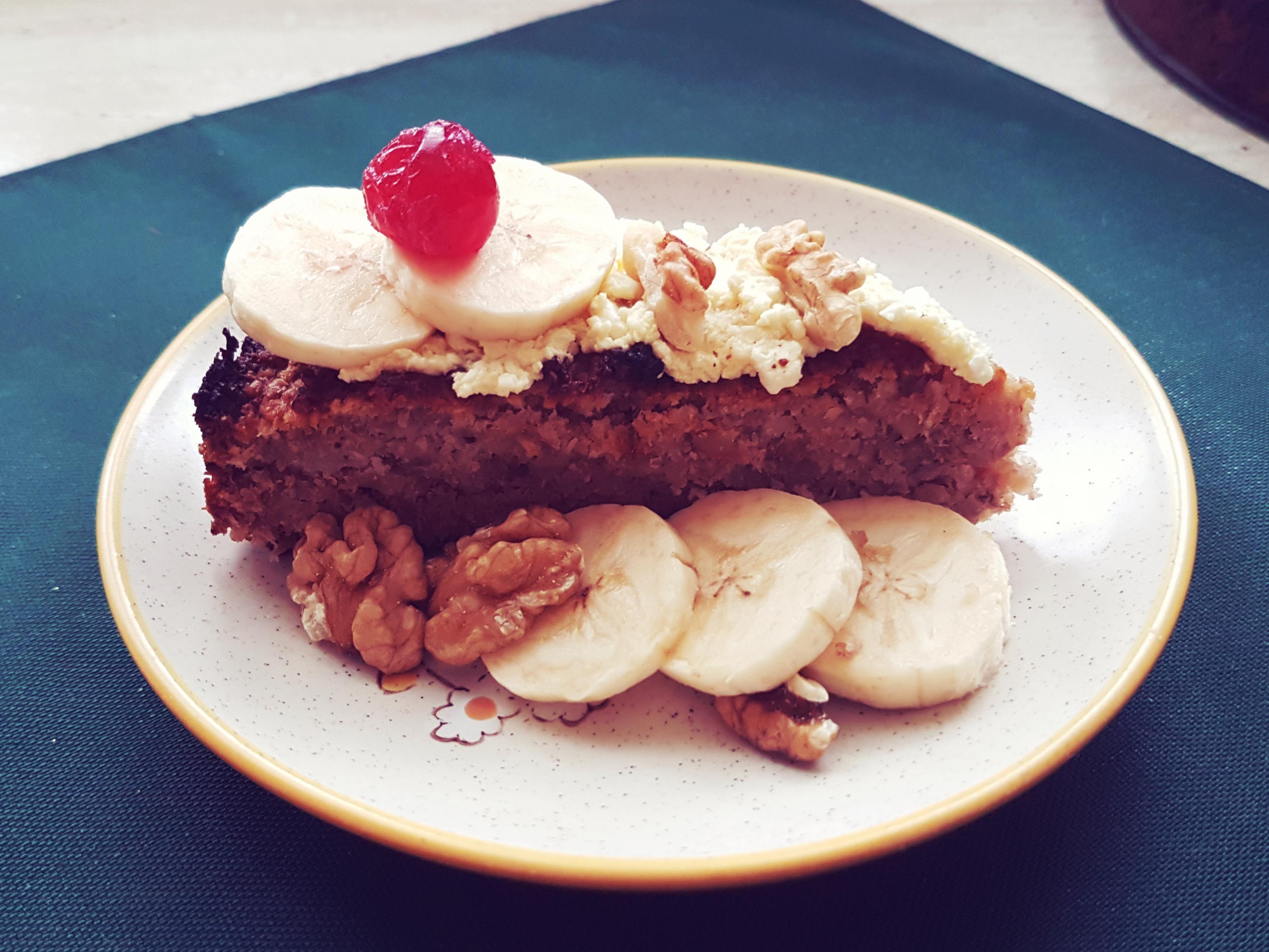 zdravý koláč bez múky a bieleho cukru