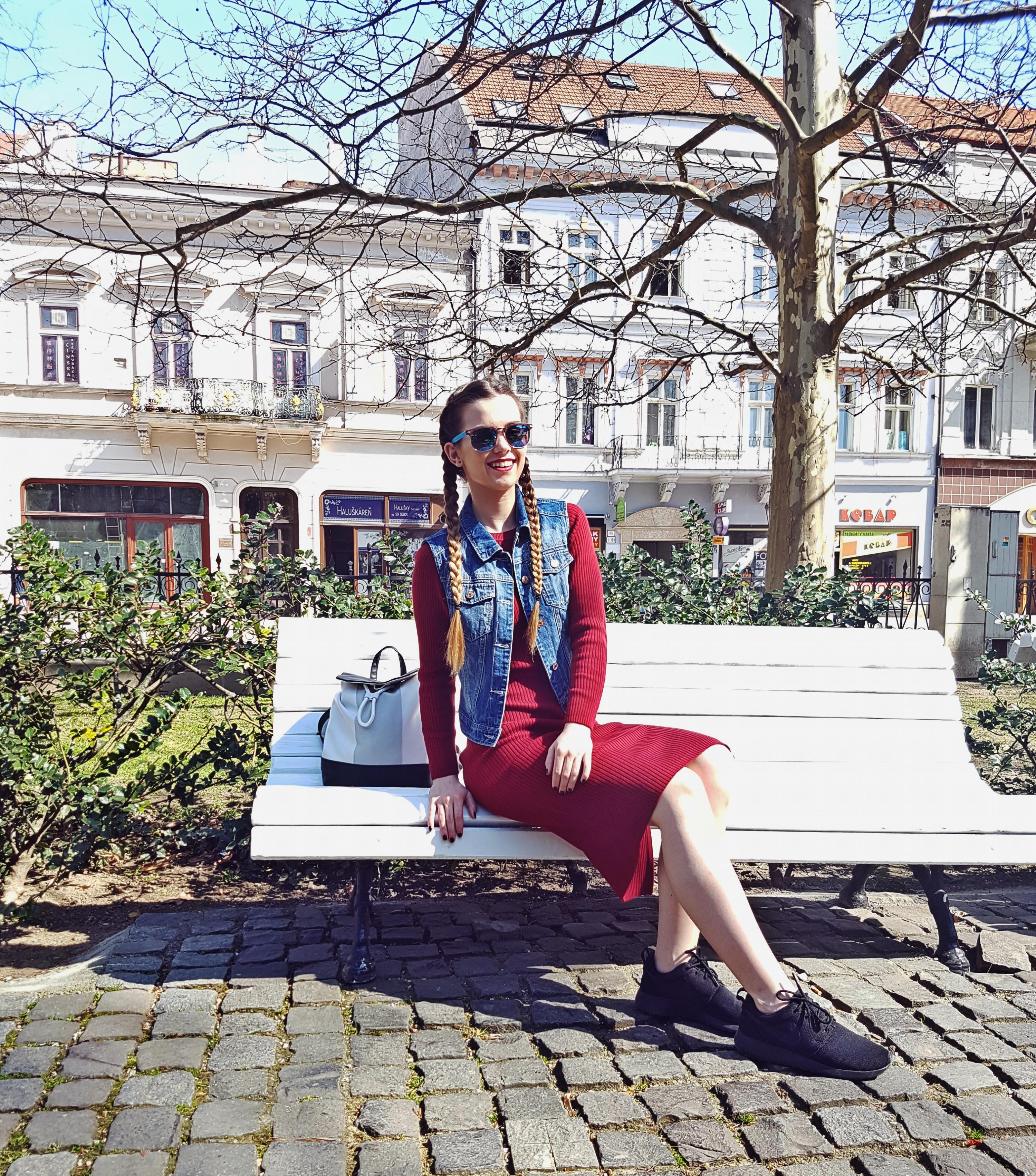 prvý jarný outfit a Košice.