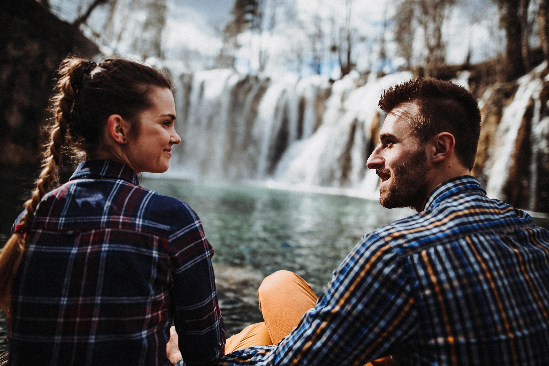 plitvické jazerá v chorvátsku.