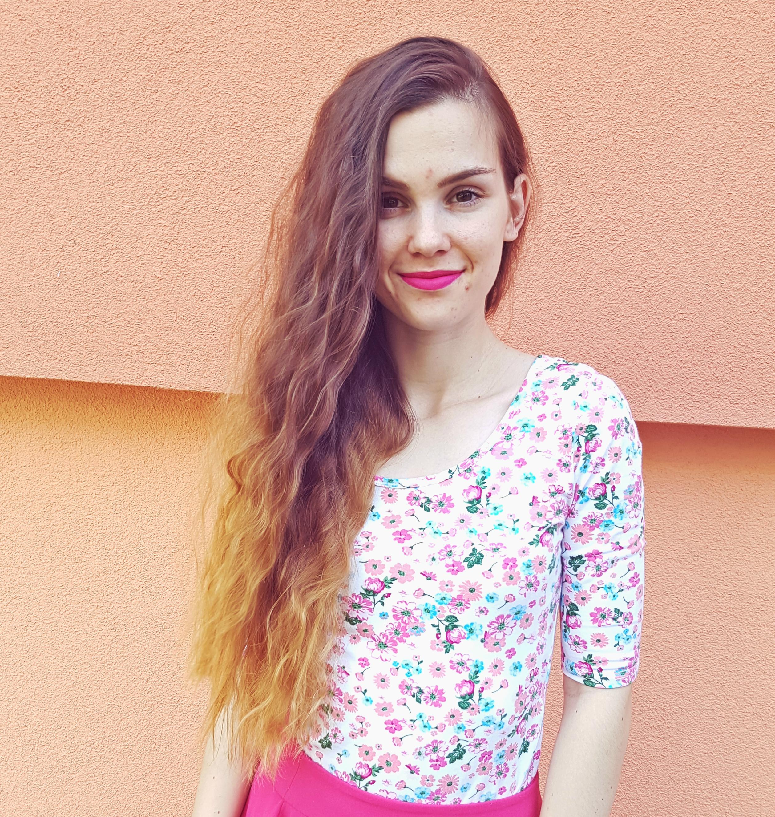 ružová sukňa a MDD.