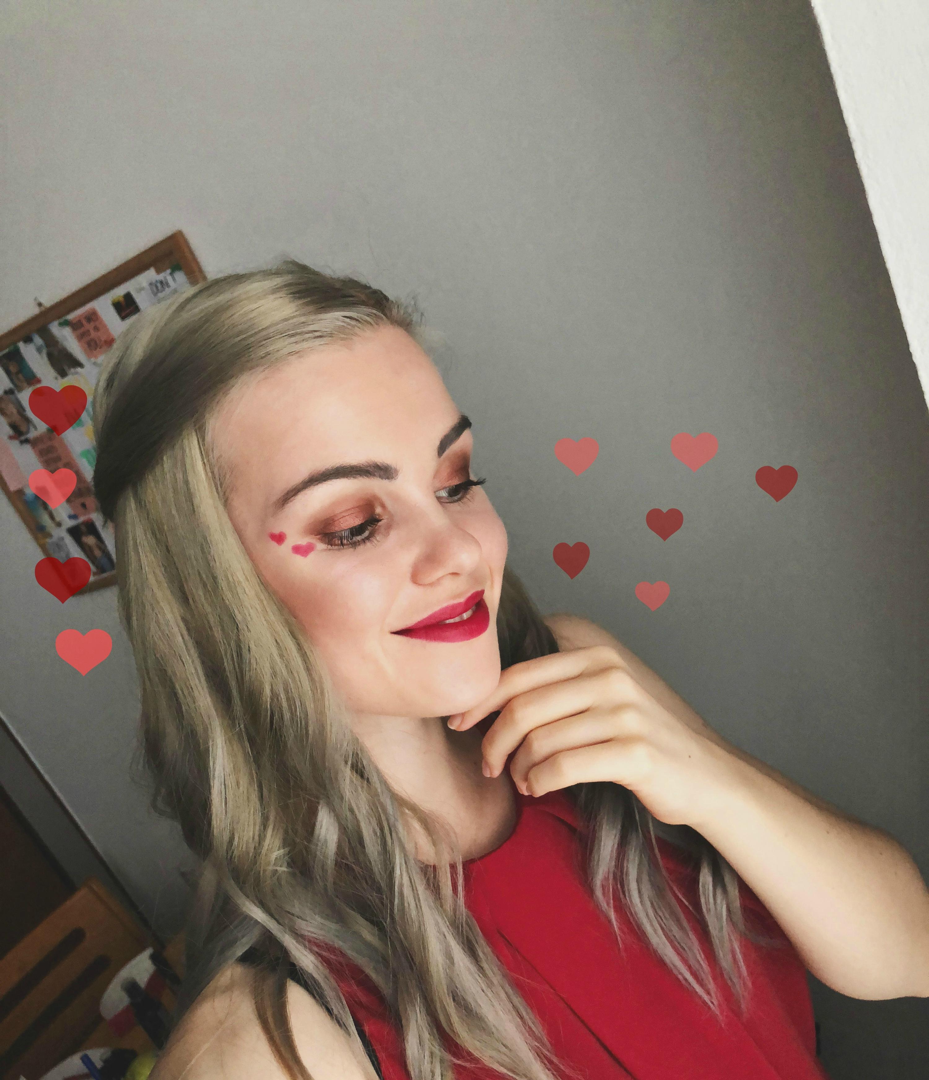 valentínsky make-up ♥