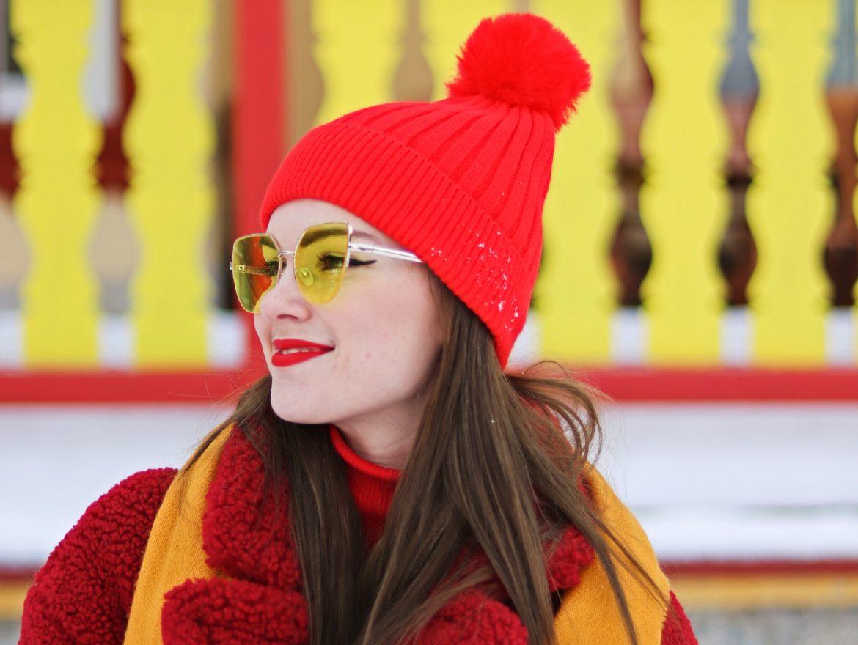 prečo som vždy veselá? | farebná zima